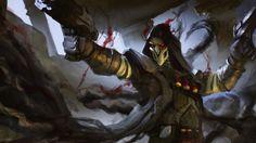 Reaper Overwatch Game Art Wallpaper