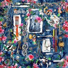 1160 meilleures images du tableau Foulards en 2019   Hermes scarves ... becc75e6270