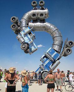 Burning Man Festival, 2012