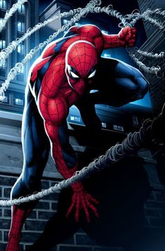 From Pencil To Paper, Inspiring Comic Book Art - Spiderman - nenuno creative Marvel Dc Comics, Hq Marvel, Bd Comics, Marvel Heroes, Anime Comics, Comic Book Characters, Comic Book Heroes, Marvel Characters, Comic Character