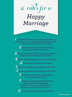 ★NEW BLOG POST★ Wediquette Wednesday: Rules for a Happy Marriage #wediquette #wedding #marriage