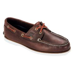 f86f5e5ee407e Timberland Men s Classic Boat Dark Brown Smooth Size 9 M