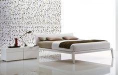 Poliform USA platform bed and nightstands