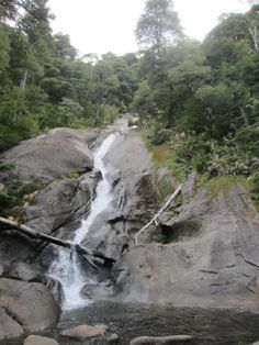 Waterfall in the national park Huerquehue, Chile, Spanish Courses, Mountainous Terrain, Mecca, Work Travel, Sandy Beaches, Rock Climbing, Horseback Riding, Rafting