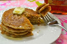 Whole Wheat Pancake Mix - stores in the freezer for a quick and easy whole grain breakfast