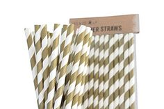 Pack of 100 Gold Drinking Retro Paper Straws for Birthday... https://www.amazon.co.uk/dp/B00YJ9QOBC/ref=cm_sw_r_pi_dp_x_cyHnyb4ZEGS17
