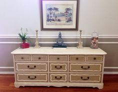 AVAILABLE Lovely handpainted French Provincial by RobinsEggBlueToo, $475.00