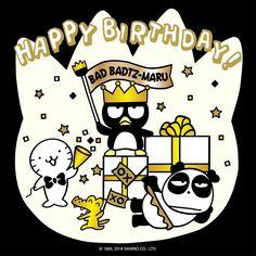 Happy Birthday Bad-Badtz Maru v(^_^v)♪ Badtz Maru, Happt Birthday, Sanrio Characters, Fictional Characters, Net Flix, K Pop Music, A Cartoon, I Love Anime, Hello Kitty