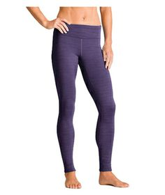 Athleta Spacedye Polartec Power Stretch 2 Tight  Plush Polartec fleece–lined leggings provide much-needed insulation for outdoor enthusiasts. The wide waistband and medium rise offer optimal figure flattery, while the zip pocket is perfect for stashing keys. Also available in gray, as well as petite, plus, and tall sizes.  To buy: $84, athleta.com.