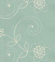 Upholstery Fabric-Waverly Candlewicking Classic/MistUpholstery Fabric-Waverly Candlewicking Classic/Mist,