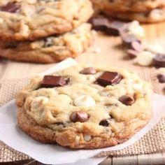 Triple Chocolate Chip Cookies @Michal Kustes