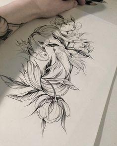 efeec3e6c402b4ef64b460bafe3ba256--pisces-tattoos-pisces-fish-tattoo.jpg 736×919 pixels