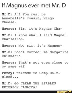Percy Jackson - SPOILER Magnus Chase - Community - Google+