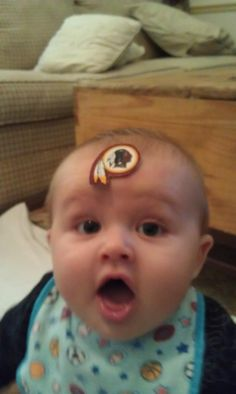 Sent in by Kevin. #Redskins