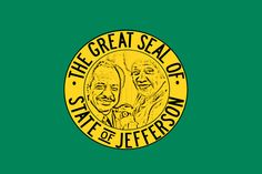 Here is the George Jefferson Approved State Flag. Thank you.