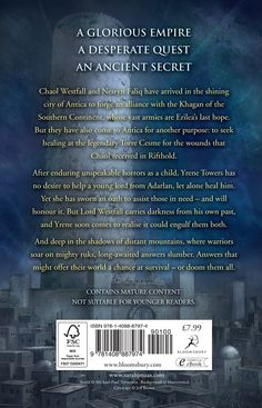 Tower of Dawn's blurb. But the important question: Where's Chaol in a dress??