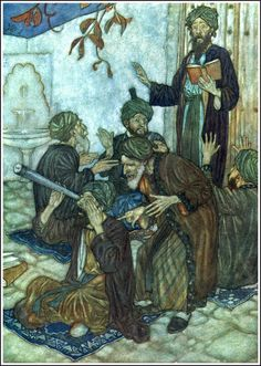 Edmund Dulac - 1909 The Rubáiyát of Omar Khayyám