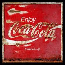 Coca Cola Vintage Rusty Sign Photograph by John Stephens - Coca Cola Vintage Rusty Sign Fine Art Prints and Posters for Sale