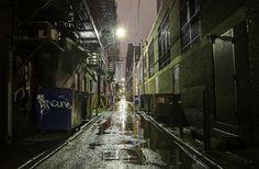 Dark Alleyway by Denis Tangney Jr, via Flickr