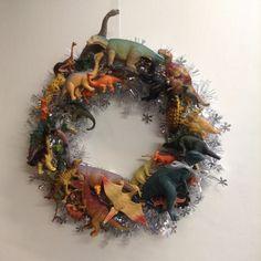 Dinosaur Wreath