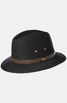 Protect yourselves from the winter elements in a Stetson water repellent  safari hat. Mens Safari 2085295fda2b
