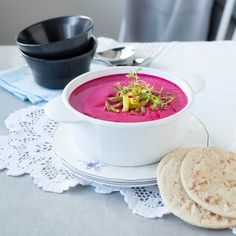 Punajuurisosekeitto | K-ruoka #itsenäisyyspäivä #juhlapöytään