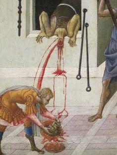 The Beheading of Saint John the Baptist, 1455/60 Giovanni di Paolo