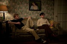 Allen Ginsberg (Daniel Radcliffe) & Lucien Carr (Dane DeHaan) - Kill Your Darlings Kill Your Darlings, Dane Dehaan, Movie List, I Movie, Lucien Carr, Darling Movie, Grudge Match, Allen Ginsberg, Beat Generation