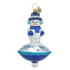 "Christopher Radko Ornament - ""Snow Spinner Classic"""
