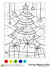 Coloriage Code Gs Noel.23 Meilleures Images Du Tableau Coloriage Magique Noel Diy