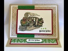 Easy Easel card 2#5- New Christmas Magic Stamp Set Stampin'Up by Mahes - YouTube