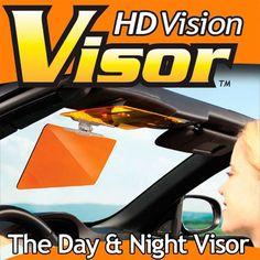 Car Sun Visor HD Vision Visor Sunshade Prevent Dazzle Mirror Day and Night Vehicle Shading Auto Solar Protection AY282-SZ+