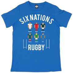 SIX NATIONS RUGBY TOURNAMENT MENS SPORTS COMPETITION T-SHIRT – Batch1