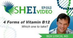 Four types of B12. You're confused. Yes. I know. Let's clarify that confusion right now, shall we? Let's start with the easy one, cyanocobalamin, garbage can. That simple. Cyanocobalamin is a synthetic form of B12