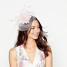 ee72c42de66cc Debut - Light pink feather flower fascinator Occasion Hats, Occasion Wear,  Pink Feathers,