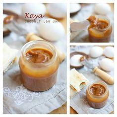 Kaya Coconut Egg Jam