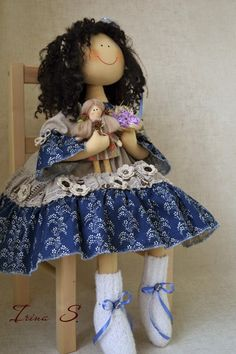 Коллекционные куклы ручной работы. Ярмарка Мастеров - ручная работа АНФИСКА вторая. Handmade.