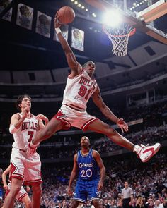 Since the original debut of the Air Jordan 1 in these popular basketball shoes continue to be released and restocked in a variety of of colorways and styles. It is now the most popular signature sneaker line ever created. Chicago Bulls Basketball, Basketball Rules, Basketball Legends, Basketball Pictures, Sports Basketball, Basketball Players, Nba Pictures, Basketball Court, Soccer