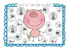 Australian Money pack. Includes a game- Put it in the bank! Craftivity- make a money caterpillar (4 different ways to make! Differentiate maths and money!) Activities- Be a detective with notes and coins.