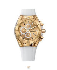 Cruise Star - Gold #TechnoMarine #watches #style #luxury  http://technomarine.com/en_EN/collection/star/cruise-star