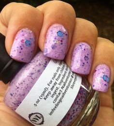Nail-Venturous Lacquers - Girly Girl