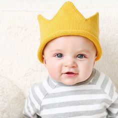 Image of Knit Crown - Gray or Gold