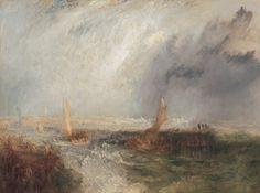 Ostende (Joseph Mallord William Turner, 1844, Neue Pinakothek, München)