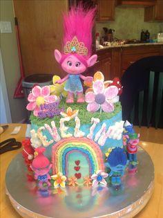 Trolls cake 2017