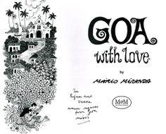 #mariomiranda #goa #indianartist #cartoonist
