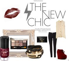 """""""Red Velvet Chic Look"""" by fashiontesha on Polyvore"""