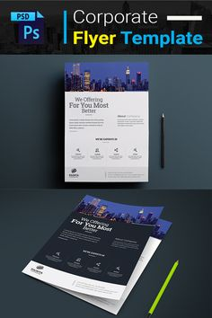 We Offering For You Most Better Flyer Templates PSDFile print dimension with + Trim Mark, Well Layered Organised CS 4 CS 5 Photographer Portfolio, Corporate Identity, Flyer Template, Flyer Design, Projects To Try, Templates, Models, Brochure Design, Stenciling