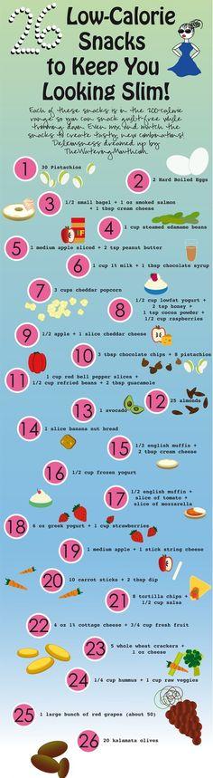 26 Low-Cal Snacks