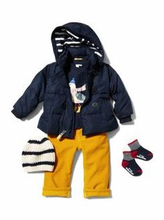 Baby Boy Clothing: We ♥ Outfits | Gap  Jeremy would hate the yellow pants, but the rest is so cute!