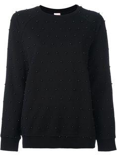 GIAMBA beaded sweatshirt. #giamba #cloth #sweatshirt